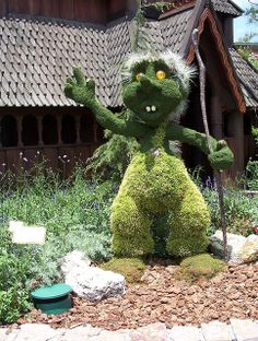 Topiary Troll | Flickr - Photo Sharing!