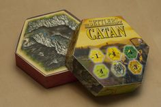 Catan hex boxes