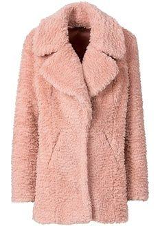 Műszőrme kabát hatalmas sálgallérral. Trendi és kellemesen puha! Hossza a 38-as…