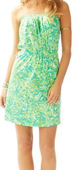 Lilly Pulitzer Windsor Dress in Fresh Citrus Green Parrot