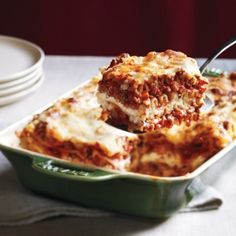 Lasagna is the go-to meal that feeds a crowd and leaves everyone asking for seconds. We have many different lasagnas in our repertoire, but this one is classic in its simplicity.