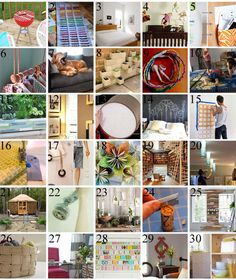 30 DIY crafts and Projects