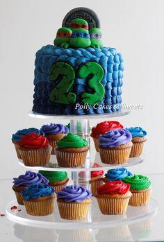 Tortugas Ninja Cake