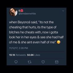 Is it really the type of bitch. Cheating is cheating idc what the bitch look like an your married its the principle dummy smh Bae Quotes, Real Talk Quotes, Mood Quotes, Qoutes, Real Shit Quotes, Gangsta Quotes, Honest Quotes, Truth Quotes, Talking Quotes