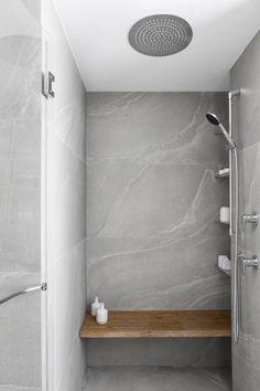 MH Apartment by Maya Sheinberger « HomeAdore Home Interior, Bathroom Interior, Interior Architecture, Interior And Exterior, Interior Design, Grey Bathrooms, Small Bathroom, Maya, Bohemian House