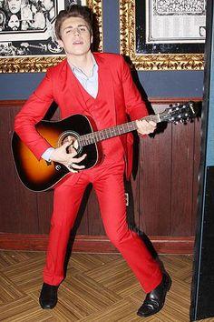 Malan Breton Homme worn by Nolan Gerard Funk Mcr Songs, Nikki Blonsky, Irina Pantaeva, Nolan Gerard Funk, Ricki Lake, Bye Bye Birdie, Katrina Bowden, Minnie Driver, Stylish Suit