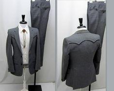 Vintage 1980s Raffinati Country Western Suit by RosasVintageFinds, $65.00