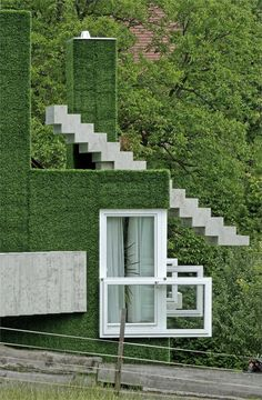 Single family home in Frohnleiten 11 Synthetic Grass Covered Volumes ...