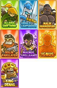kingdom rush characters