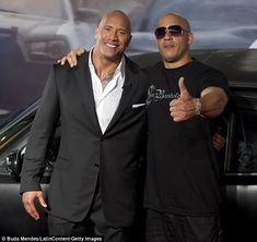 Dwayne 'The Rock' Johnson's shocking rant was allegedly directed at his co-star Vin Diesel, TMZ claims. The Rock Dwayne Johnson, Rock Johnson, Dwayne The Rock, Vin Diesel, Fast And Furious, Dominic Toretto, Interview, Raining Men, Famous Men