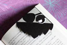 Blackbeard Pirate Corner Bookmark