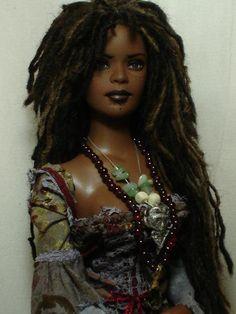 beautiful brown skin doll.