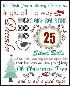 Jen Cookies Christmas Printable