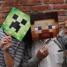 Minecraft Caretas (8)