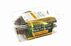 """New York Naturals Vegan """"Cheese"""" Kale Chips. Whole Foods."""