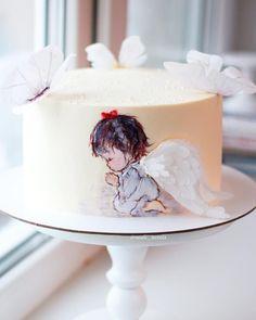 Работа по мотивам творчества невероятно талантливой @elena_gnut_cake Рисунок по крему, бабочки и крылья - вафельная бумага #тортлипецк #липецкторт #тортназаказлипецк #липецк #тортнакрещение #тортангел #ангелочек #вафельнаябумага #детскийтортлипецк #свадебныйтортлипецк #lipetsk #cake #angel #waferpaper #food #foodfoto #vsco #vscolipetsk #love #yummy