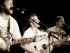 Trampled by Turtles - just heard this bluegrass group on NPR - love their sound.