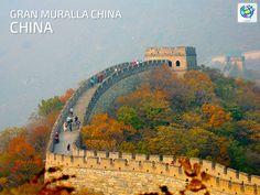 😥 Caminar por la muralla china en #China