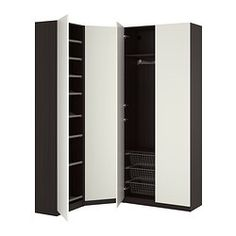 PAX system - Combinations including interior organizers - IKEA