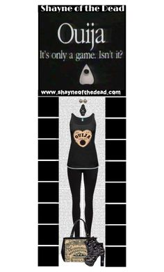 Shayne of the Dead (15) by irresistible-livingdeadgirl on Polyvore featuring Dr. Denim, Oris, emo, goth, gothic, ouija and shayneofthedead