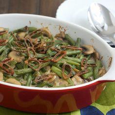 From Scratch Green Bean Casserole