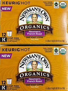 Newmans Own Organics French Roast K  Cups 24 count * Want to know more, click on the image.