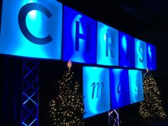 christmas stage set ideas | Christmas Ransom | Church Stage Design Ideas