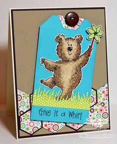 Fred Bear and the Pinwheel - Karen Motz