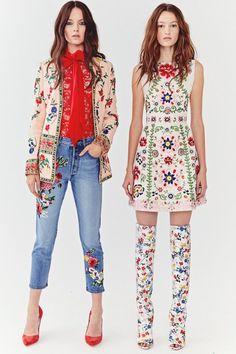 Alice+Olivia коллекция   Коллекции весна-лето 2018   Нью-Йорк   VOGUE