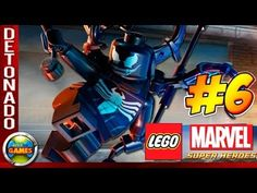 LEGO Marvel Super Heroes Parte #6 Oscorp Walkthrough