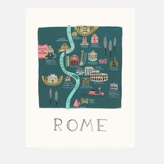 Rome Print | Rifle Paper Co.