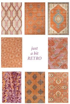 Fashion Translation: Just a Bit Retro | Trend Center by Rugs Direct