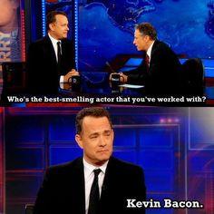 101st reason to like Tom Hanks!!  I love bacon!