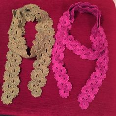 Queen Anne's lace scarf - pattern on ravelry
