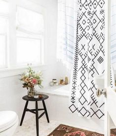 Tips Choose the Right Shower Curtain For Your Small Bathroom and 100+ Ideas