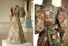 """The International """"Money Dress"""" by Susan Stockwell   21 Things Made Out Of Cold, Hard Cash"""