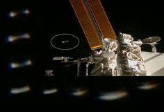 ISS Live Stream: UFO approaches International Space Station |UFO Sightings Hotspot