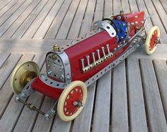 Meccano model page 48 Racing Car