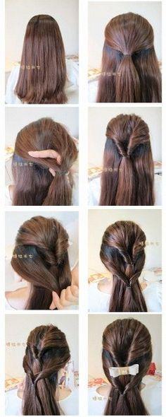 hairstyle tutorials #hair #hairstyle