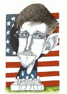 Edward Snowden - Pancho Cajas