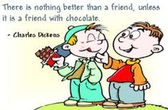 #friendship #quotes #chocolate