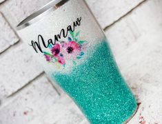 Your place to buy and sell all things handmade Puzzle Pieces, Tumblers With Lids, Glitter Tumblers, Custom Cups, Travel Cup, Insulated Tumblers, White Glitter, Tumbler Cups
