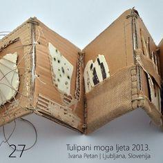 Concertina Book, Accordion Book, Handmade Journals, Handmade Books, Handmade Crafts, Handmade Rugs, Up Book, Book Art, Paper Book