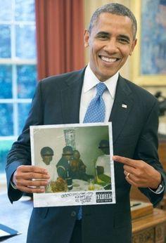 Obama Drake Lamar