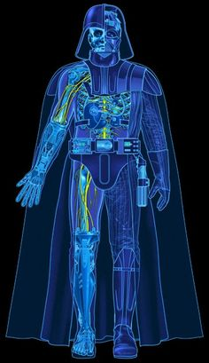 Darth Vader anatomy #casadonerd