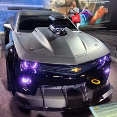 Chevy Camaro ZL1 via Instagram @constitutionally_stanced #NYIAS
