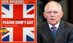 The German finance minister warns Brexit if you leave the EU, you do not retain the benefit of access to single market. Michael Moore in a video asks WHY would you do that to yourself? One can guess.. the Brits have a history of fighting, defending, warring, competing, exploiting; they have seen the loss of an Empire built on exploitation & war; & it's difficult to give up what remains of an autonomous country - all British. https://www.youtube.com/watch?v=IOW3j6sB7Uk