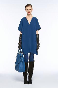 DVF squaretan dress _ 71% Triacetate 29% Polyester _ $325