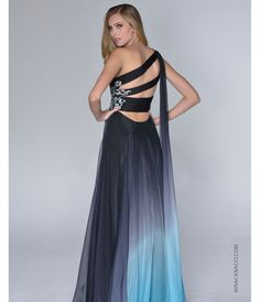 black and blue prom dresses - Google Search