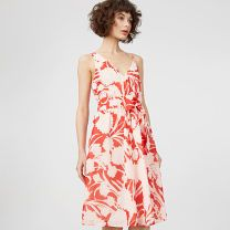 Nahala Dress - In bloom. A graphic floral feels fresh and bold for spring. Add polish with heels or keep it casual with sandals or espadrilles.